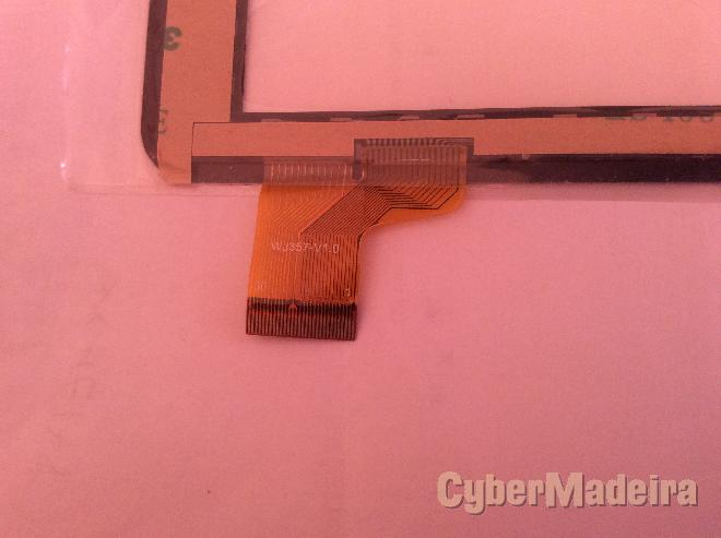 Vidro tátil   touch screen WJ357-V1.0Outras