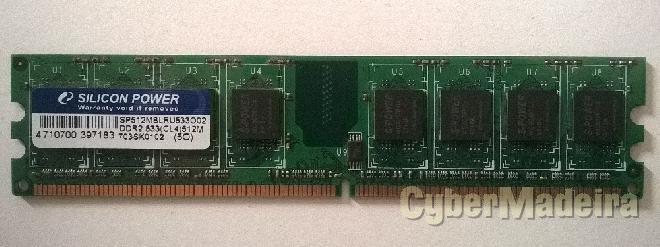 Memórias ram de 512MB para desktop