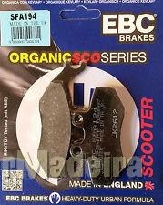 Pastilha de travão ebc org sfa series - SFA194