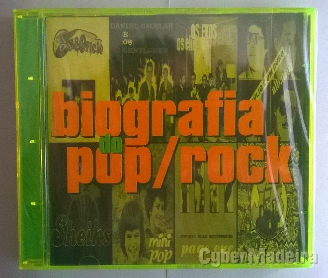 Cd duplo biografia do pop rock - vários