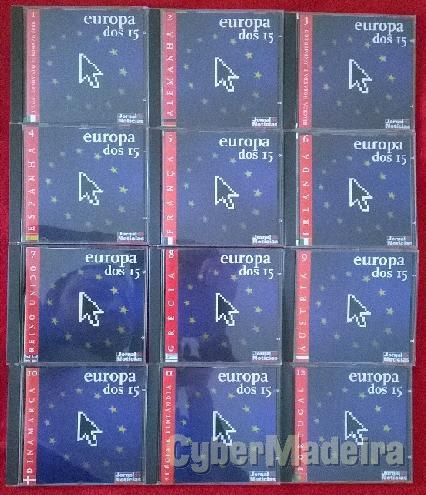 Colecção europa dos 15 em cd-rom