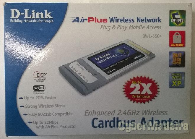 Placa wifi pcmcia da d-link