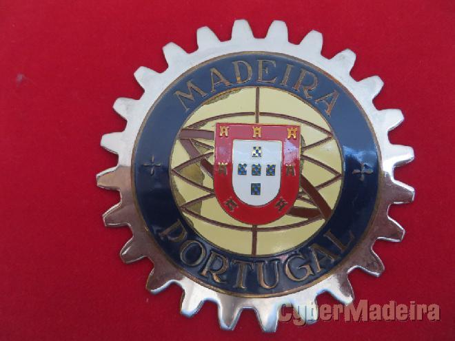 Emblema placa funchal madeira vintage 2