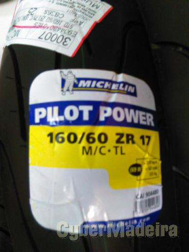 Pneu michelin  160 60-17 pilot power