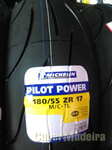 Pneu michelin  180 55-17 pilot power