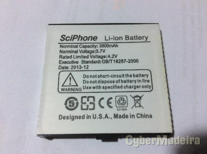 Bateria para telemovel sciphone 3800mAh