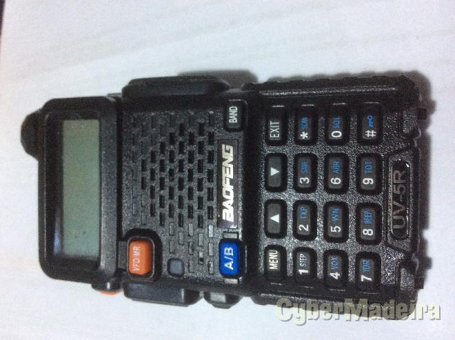 Radio vhf   uhf de comunicações baofeng UV-5R