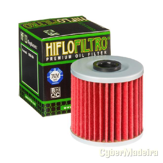 Filtro de oleo hiflofiltro HF123