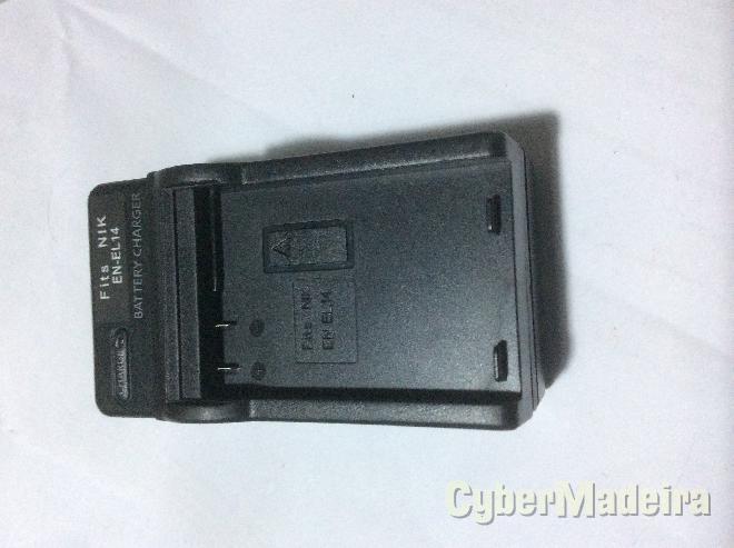 Carregador de bateria nikon EN-EL14 , ENEL14 Nikon