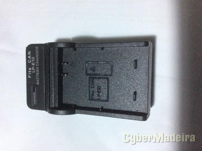 Carregador de bateria canon LP-E10