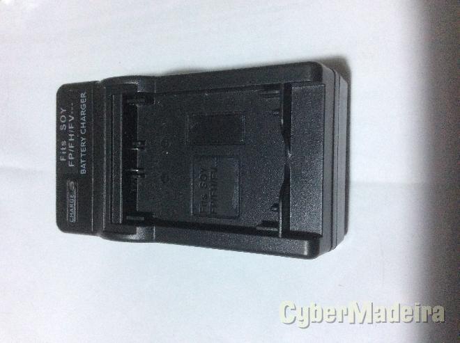 Carregador de bateria Sony FP FH FV522