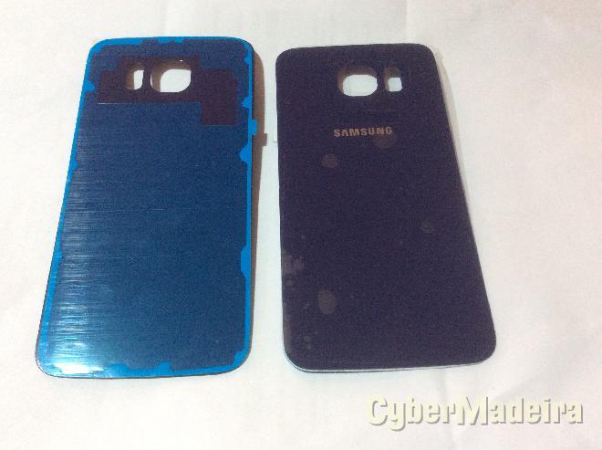 Tampa traseira samsung galaxy S6 SM-G920F azul