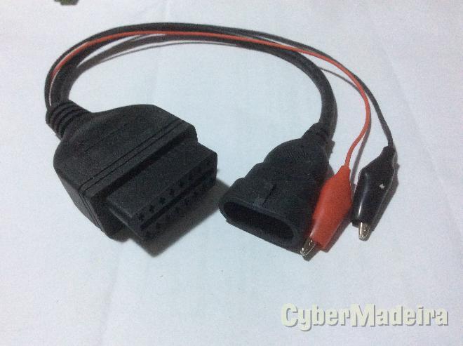 Cabo adaptador Fiat 3 pinos para OBD2