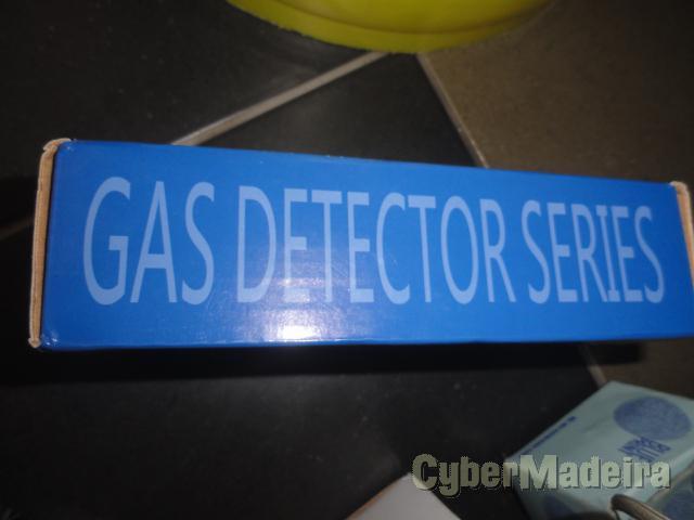 Detector fuga gas novo em caixa