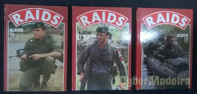 Raids - volumes 15, 16 E 17