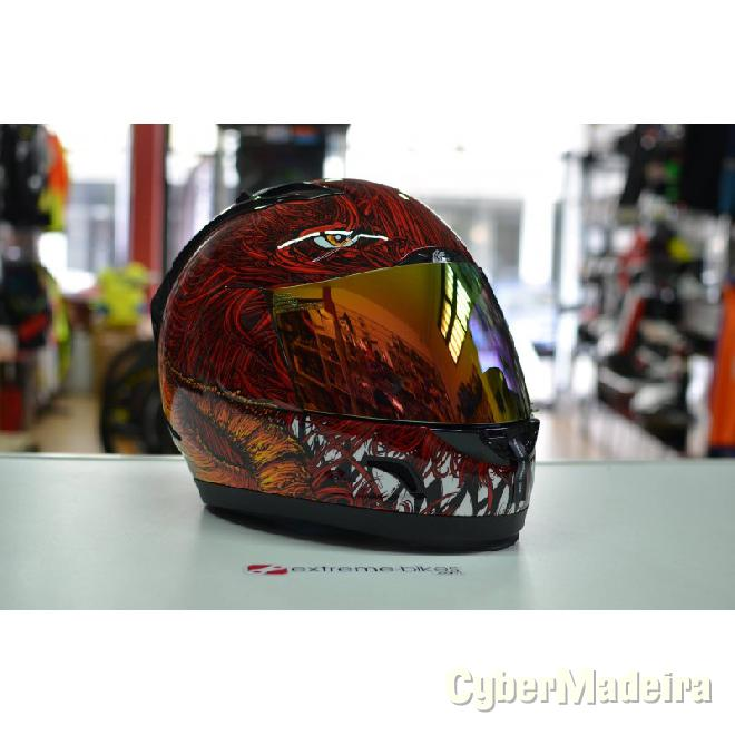 Shoei Capacete ICON ALLIANCE LUCIFUR RED