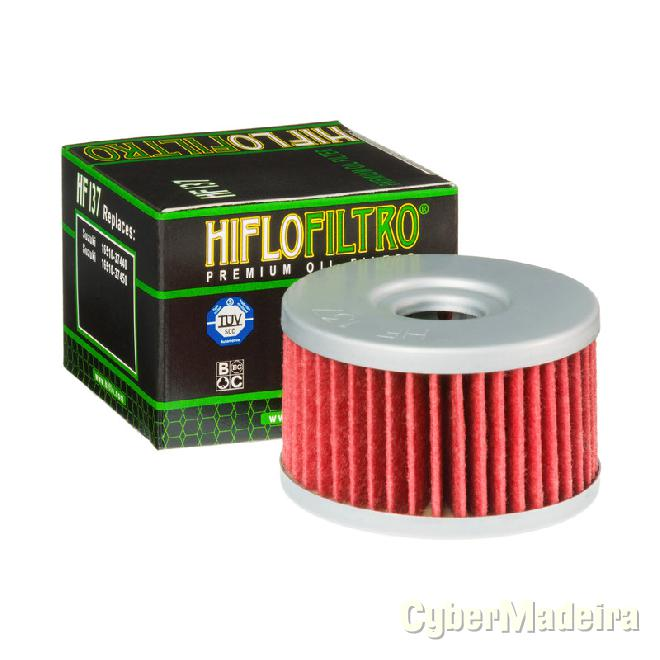 Filtro de oleo hiflofiltro HF137