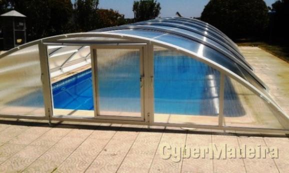 Coberturas de piscinas telescopicas