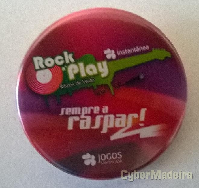 Crachat da lotaria instantânea - rock n\'play ritmos de verão