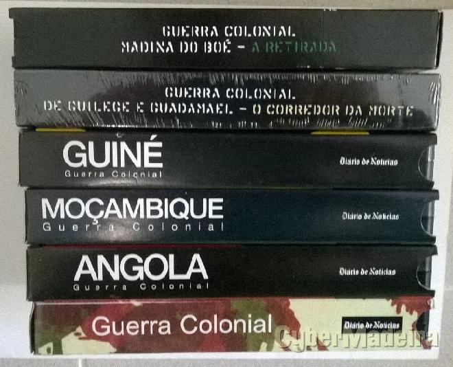 Colecção sobre A guerra colonial em vhs