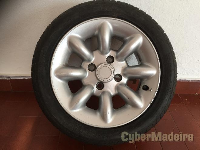 """Jantes mini13"""" com pneus"""