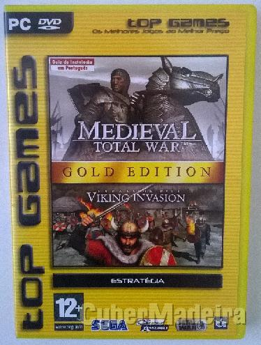 Jogo para pc medieval: total war - gold edition