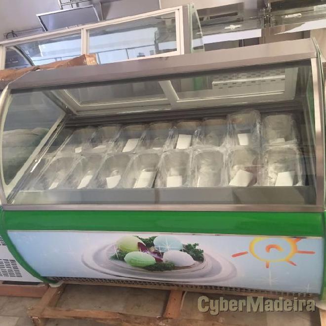 Electrolux vitrina de gelados 12 sabores