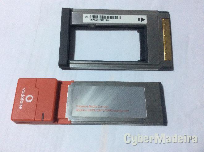 Modem huawei E870 express card + adaptador
