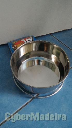 Taça em inox para cães 12,5CM
