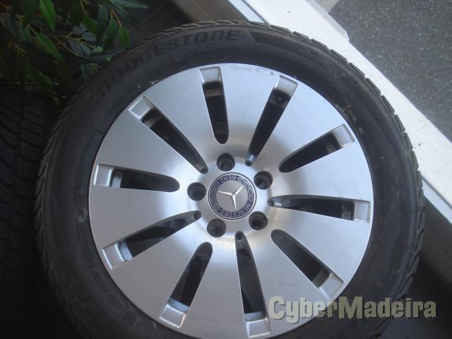 Jantes Mercedes 16  com pneus