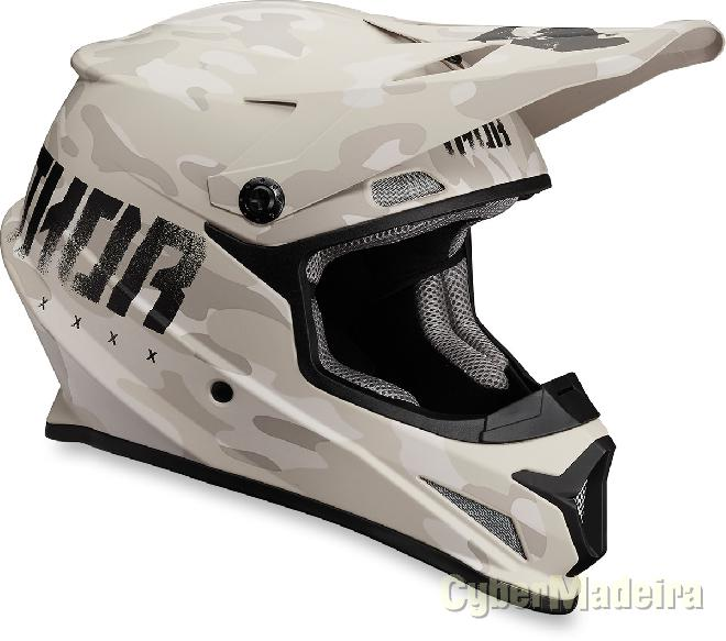 Thor Capacete Thor SECTOR COVERT MATTE Sand