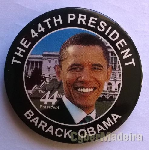 Crachat barack obama - the 44TH president