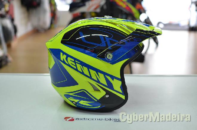 Shoei Capacete KENNY Trial-Up YELLOW/BLUE