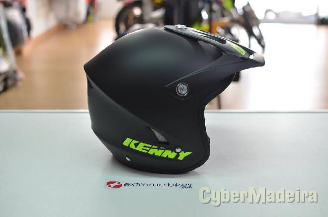 Shoei Capacete KENNY Trial-Up BLACK MATE