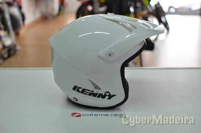 Shoei Capacete KENNY Trial-Up WHITE