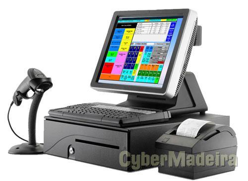 Pos - caixa registadora - completo com oferta de licença do programa E montagem.