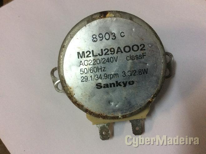 Motor rotação prato microondas sankyo M2LJ29A002