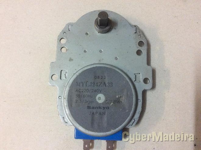 Motor de rotação prato microondas sankyo MYLJ24ZA33