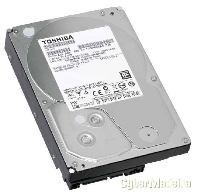 Hdd 3.5P toshiba DT01ACA200 2TB 7200RPM 64MB SATA3