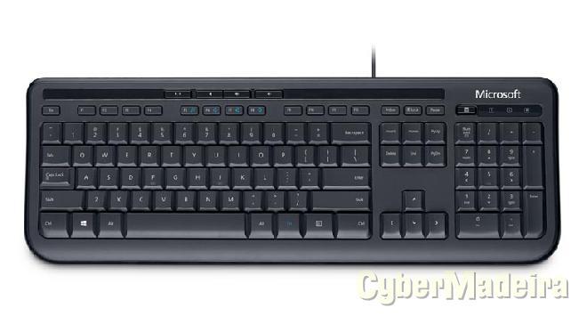 Teclado microsoft usb wired keyboard 600