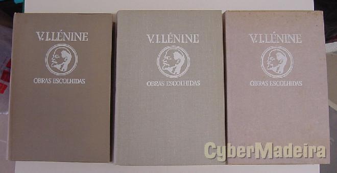V.i. lénine - obras escolhidas em três tomos