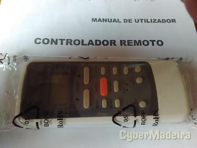 Comando remoto para ar condicionado cella