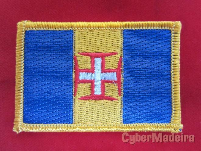 Bordado Bandeira Madeira