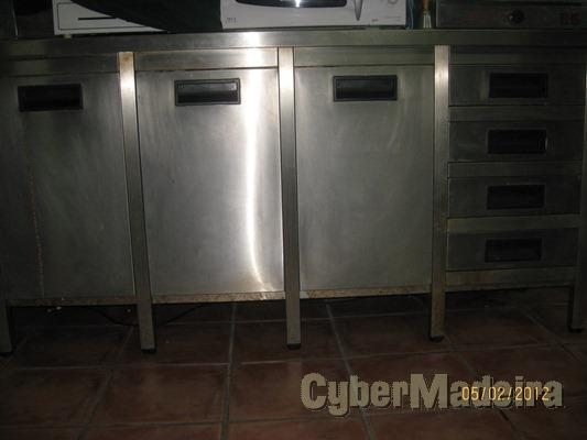 Bancada Inox cozinha