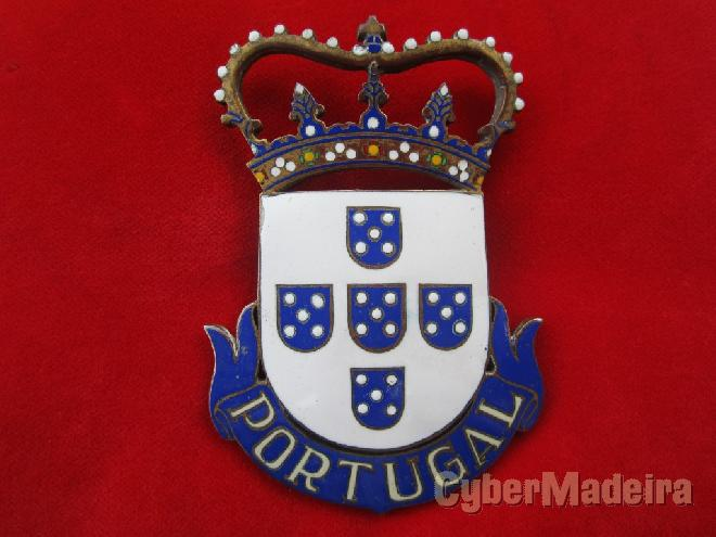 Emblema Placa Chapa Portugal 4