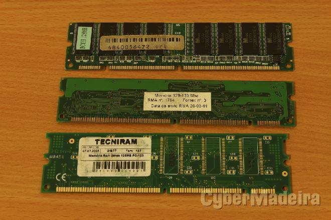 Memória sdram 128MB pc