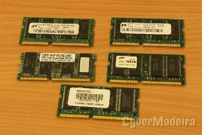 Memória sdram 128MB portatil