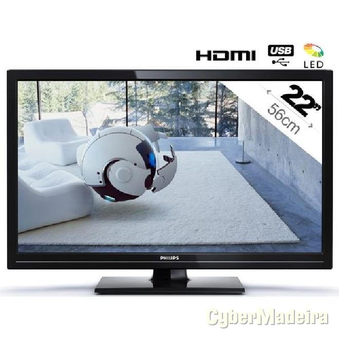 Tv led philips 22 full hd LED SIM