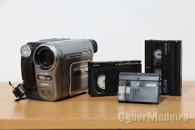 Conversão cassetes video p dvd - pal   ntsc