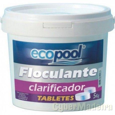 Floculante Tabletes ECOPOOL 5 Kg